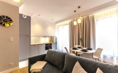 Apartament o powierzchni 56m2 ul. Rajska w Gdańsku