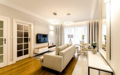 Apartament o powierzchni 47m2 ul. Rajska w Gdańsku